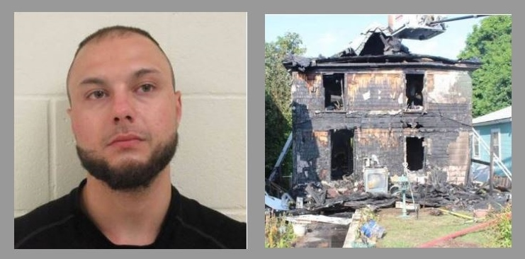 Maine man gets five years for July arson fire that destroyed Sanford home