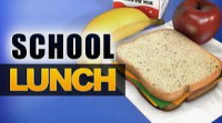 Free school lunches available to all students beginning tomorrow