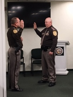 Longtime deputy sheriff promoted to rank of sergeant