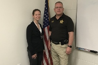 Sheriff's Office welcomes new deputy to work in prison transport unit