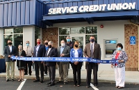 Chamber ribbon cutting heralds new downtown SCU branch office