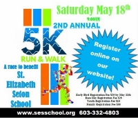St. Elizabeth Seton Hall 5K Walk & Run set for May 18