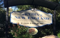 The silence at grief-stricken Skydive was deafening