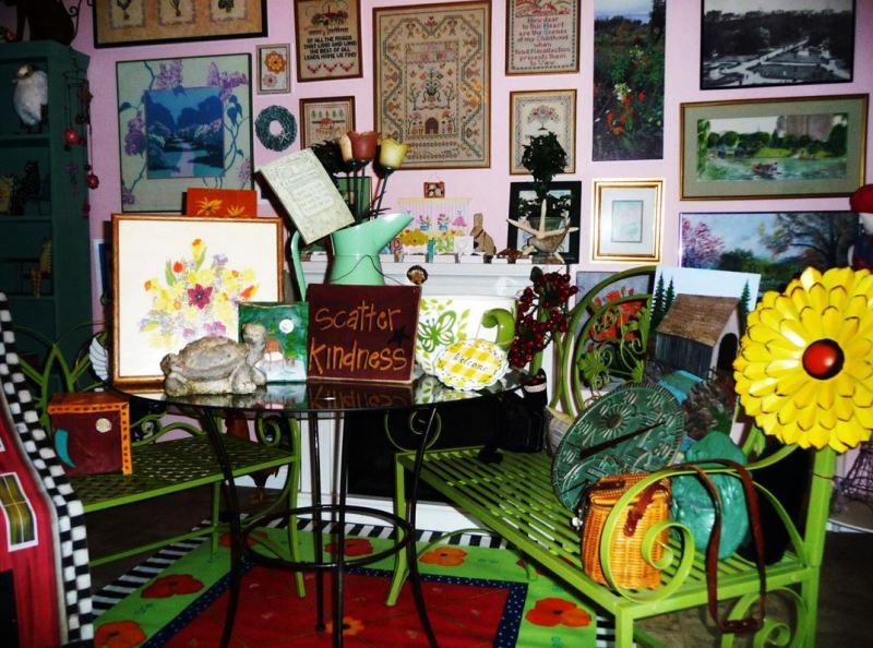 Garden club's plant sale includes backyard bric-a-brac