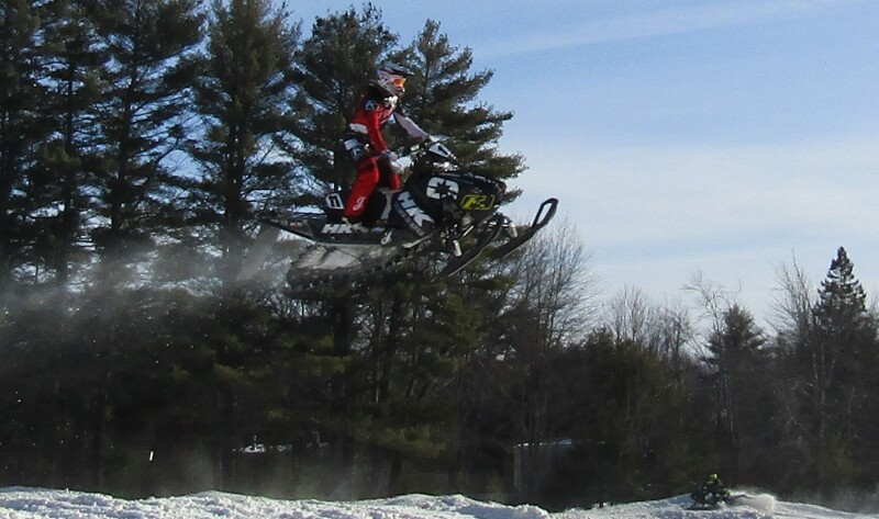 To 'air' is human: Snocross riders hone skills at just-built Salmon Falls Road track