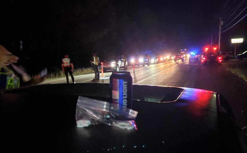 Six charged during Labor Day weekend sobriety checkpoint in Lebanon