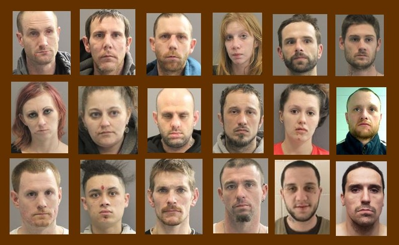 18 picked up on drug, other charges after probe that ended with Somersworth raid