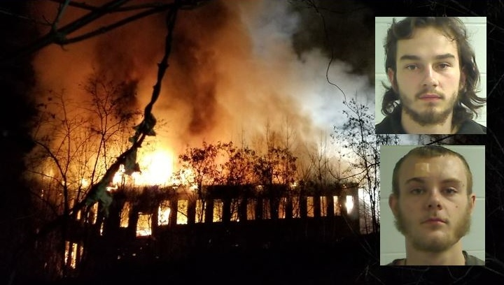 Police arrest two on arson charges in Somersworth mill fire