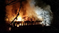 Site of former Somersworth mill burns in spectacular overnight blaze