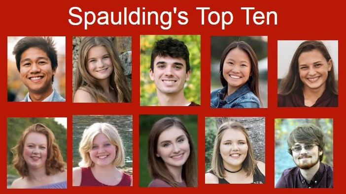 Congratulations to Spaulding High's Top Ten graduating seniors