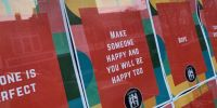 Spaulding student group, Rochester social club display inspirational posters