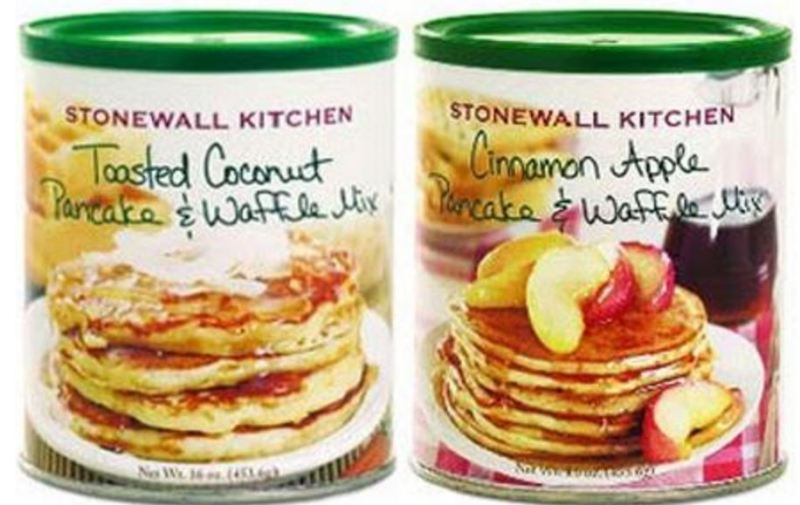 Stonewall Kitchen voluntarily recalls some pancake, waffle mixes