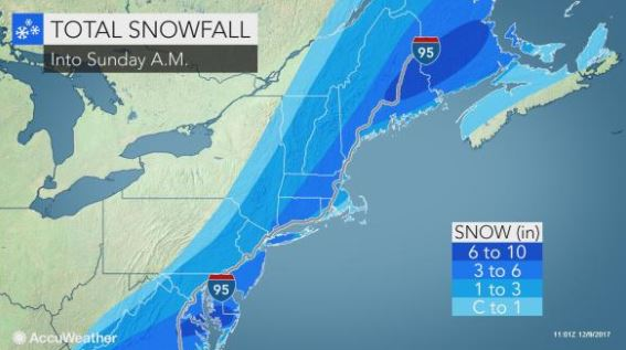 First significant snow of season will make roads greasy