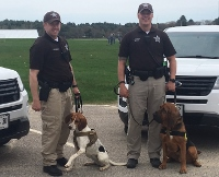 Recently certified K9 unit bolsters SCSO's capability in missing persons, drug detection