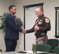 Newest addition to Sheriff's department sworn in on Monday