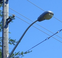 City streetlights being converted to high-efficiency LEDs