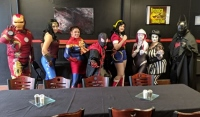 Superhero breakfast kicked off weeklong celebration of all things comic book