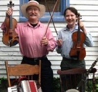 Fiddling duo, ice cream social close out city music series