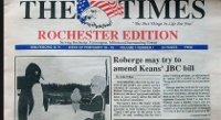 In Rochester, the Times they are a changing no more as hometown paper folds