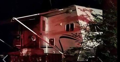 Animal chewing electrical wire blamed in Lebanon camper fire