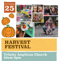 Trinity Anglican Church to hold Harvest Fest on Sept. 25