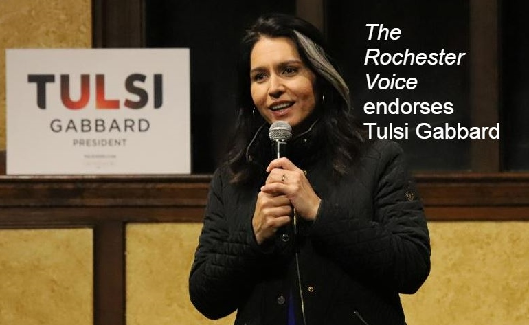 Tulsi's strength of purpose, courage of conviction have our vote on Tuesday