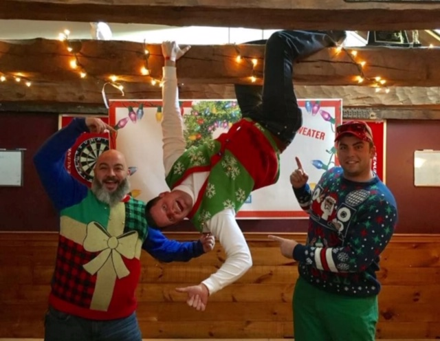 At Ugly Sweater Pub Crawl, you don't know how it'll go, but you know it'll get ugly