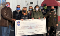 Swim With a Mission donates $20G to Rochester veterans group