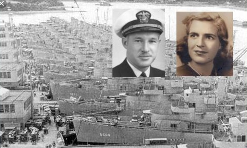 Mom served her country, too, and helped build Dad's ships