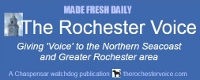 A very special price for 10 days at The Rochester Voice