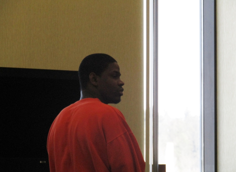 At second plea and sentencing hearing in five days, suspect says, 'Prove it'