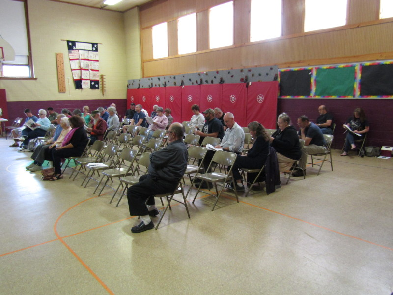 Few show up to debate issues at Lebanon Public Hearing