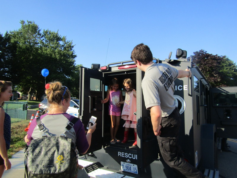National Night Out will be the cool place to be, even with the heat
