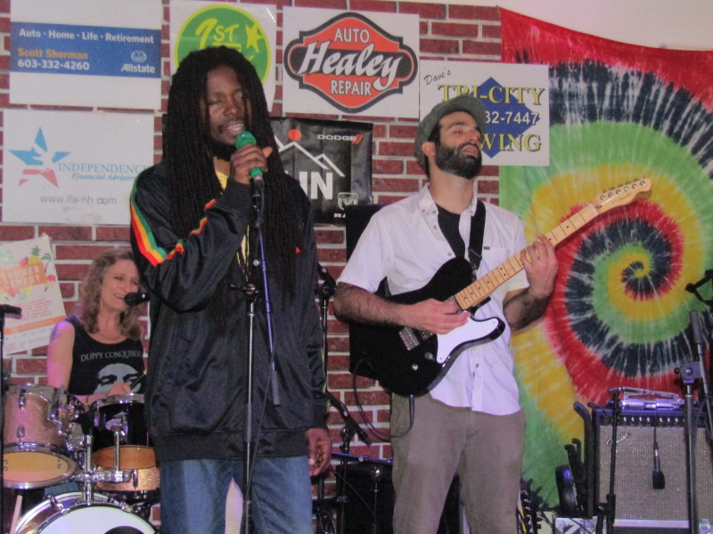 At Governor's Inn Reggae Fest, 'rain be no problem, mon'