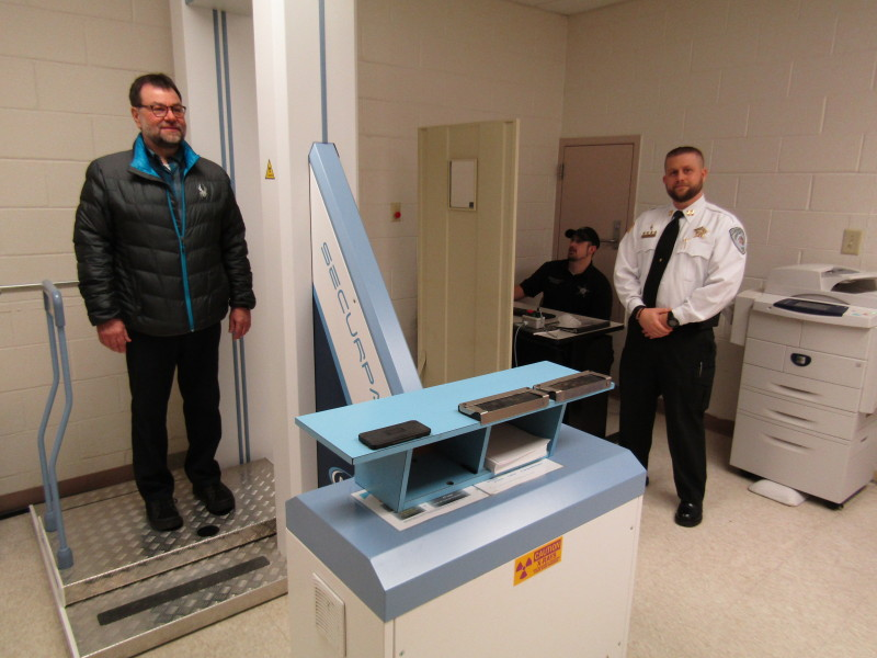 X-ray vision, teamwork keep drugs on run at Strafford Jail