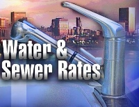 City sewer, water rates headed for a big bump; public hearing set for tonight
