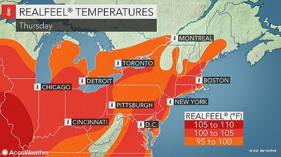 Dangerously hot day expected in Northern Seacoast