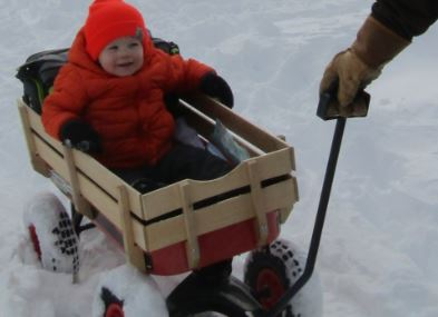A wagonload of fun at a Milton Winter Carnival for the ages