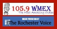 The Rochester Voice headlines coming to Rochester's radio station WMEX