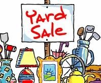 Dorcas Society holds Labor Day weekend yard sale