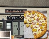 If you've a hankering for gourmet pizza, look no more; there's York 54