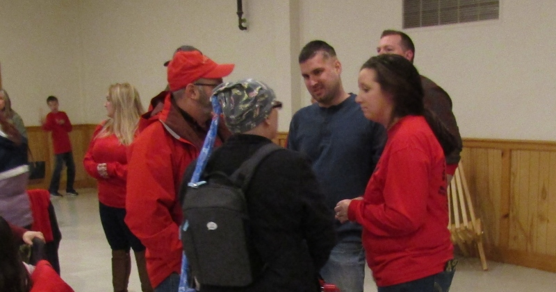 It was 'Zach Strong' day at the Legion, and it rode a red wave of love and support